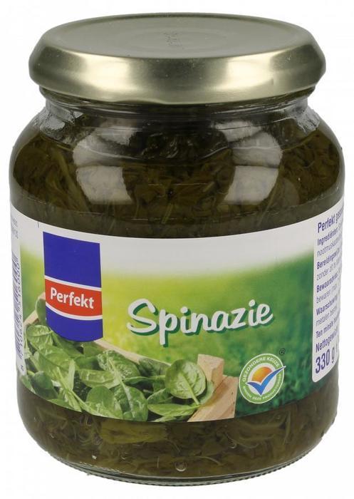 Spinazie (pot, 330g)