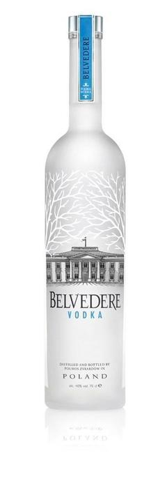 Belvedere Vodka Pure 1750ML (fles, 175 × 1.66kg)