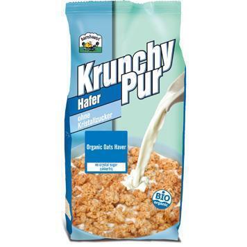 krunchy pur hafer (zonder suiker) (375g)
