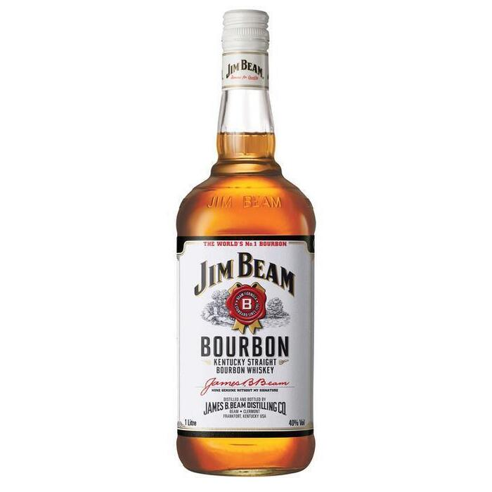 Jim Beam Kentucky straight bourbon whiskey (rol, 100 × 1L)
