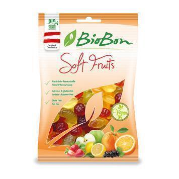 Soft fruits zonder gelatine (100g)