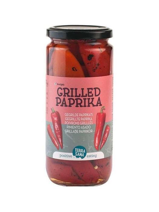 Gegrilde Paprika's TerraSana 450g (450g)
