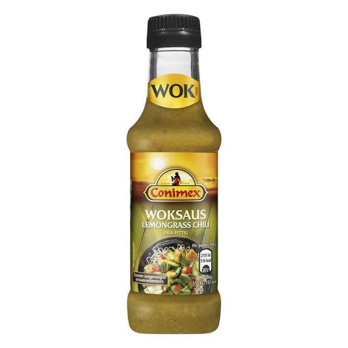 Conimex Woksaus lemongrass-chili (175ml)