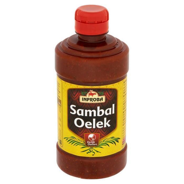 Inproba Sambal Oelek (plastic fles, 425g)