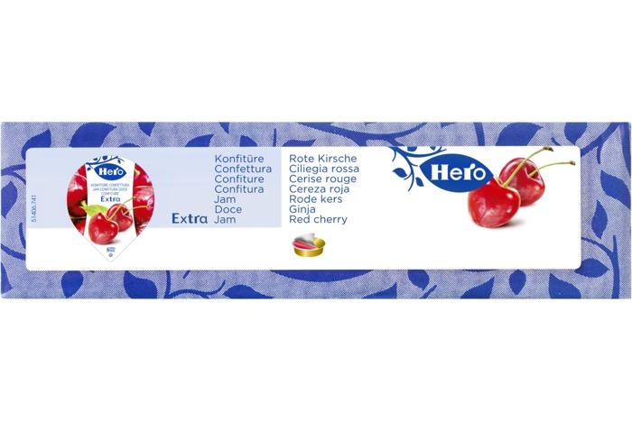 HERO Extra Jam Rode kersen 120 x 15g Tray (120 × 1.8kg)