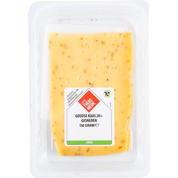 20+ Komijn kaas gesneden (150g)