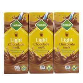 Chocolademelk light 6 x 200 ml (1.2L)