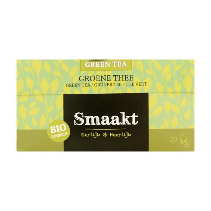 Smaakt Biologisch Groene Thee 20 x 1,5 g (Stuk, 20 × 30g)