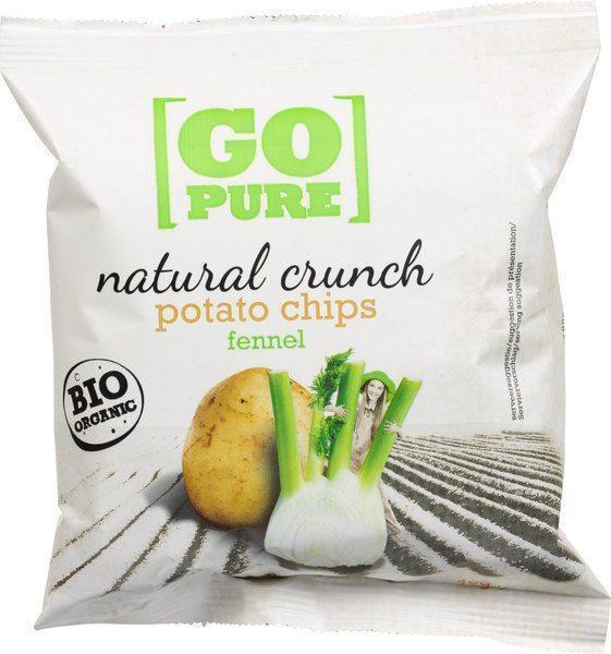 Natural crunch chips fennel (40g)
