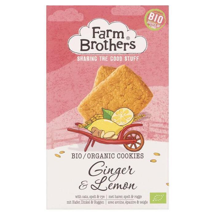 Biologisch koekje gember & citroen (150g)