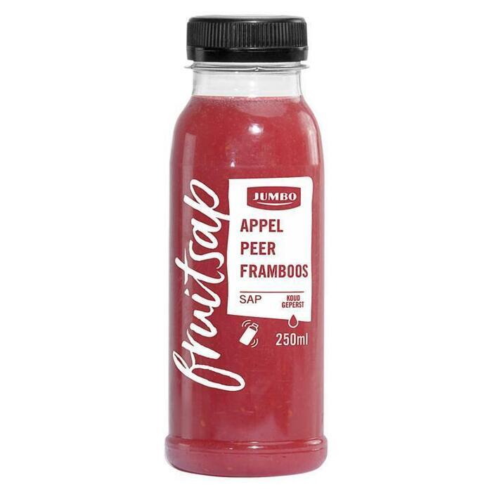 Jumbo Fruitsap Appel Peer Framboossap 250ml (250ml)