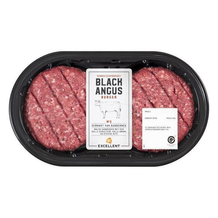 Black Angus Burger (bak, 2 × 270g)