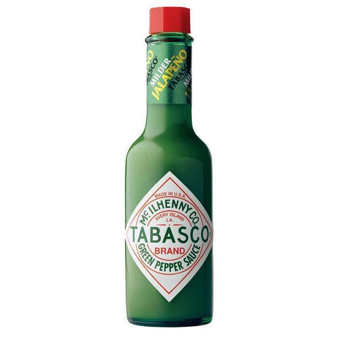 Tabasco Milde Groene Pepersaus 60ml (60ml)