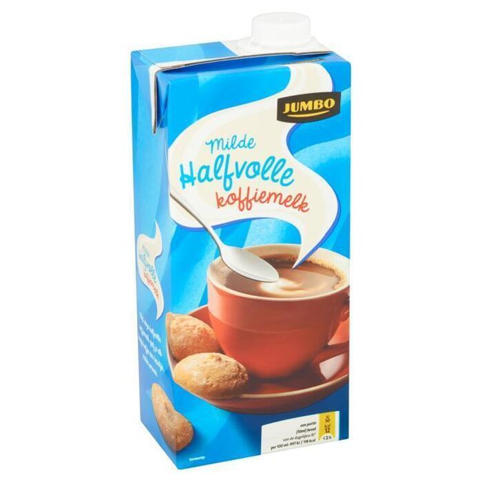 Milde Halfvolle Koffiemelk (pak, 0.93L)
