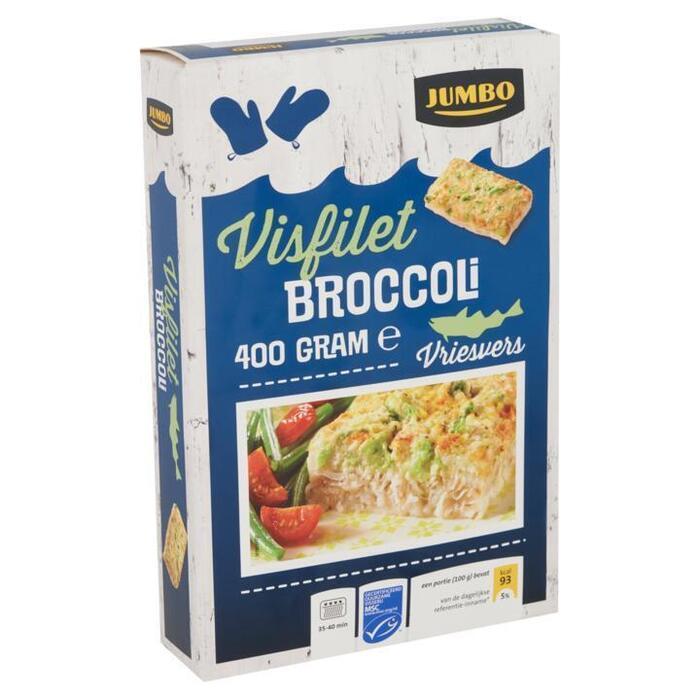 Jumbo Visfilet Broccoli Vriesvers 400g (400g)