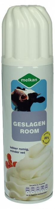 Melkan Slagroom light 35% minder vet (250g)
