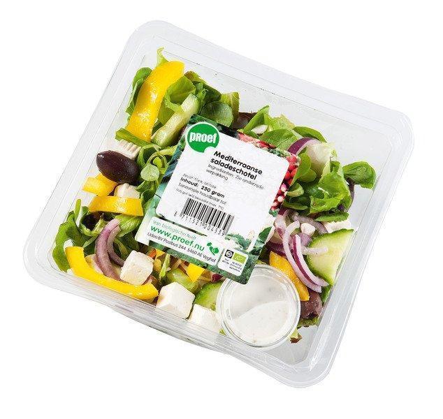 Mediterraanse saladeschotel (bak, 250g)