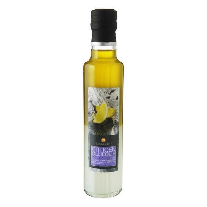 Olijfolie frisse citroen (glazen fles, 250ml)