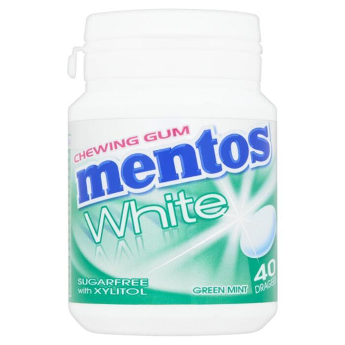 Mentos Chewing Gum Green Mint  Bottle 60G (40 × 60g)
