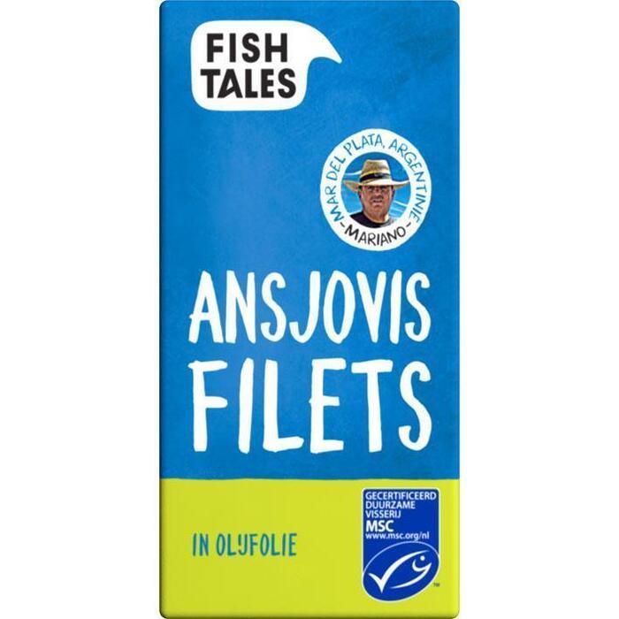 Mariano's ansjovis filets, MSC (blik, 45g)