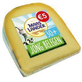 Maaslander Jong belegen kaas 30+ stuk (450g)