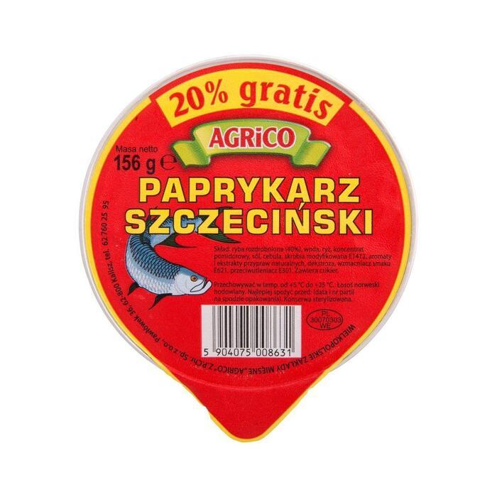 Agrico Paprykarz szczecinski (blik, 156g)