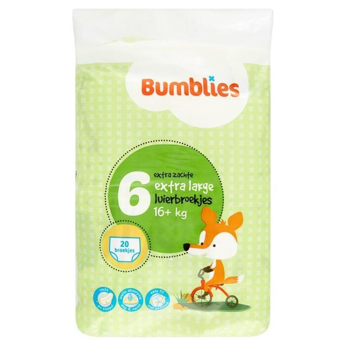 Bumblies luierbroekjes XL 20 (20 st.)