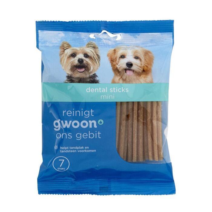 g'woon Dentalsticks Mini 7 Sticks 110 g (110g)
