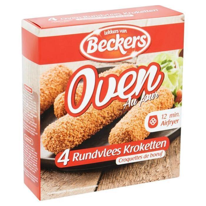 Beckers Oven kroketten (4 × 80g)