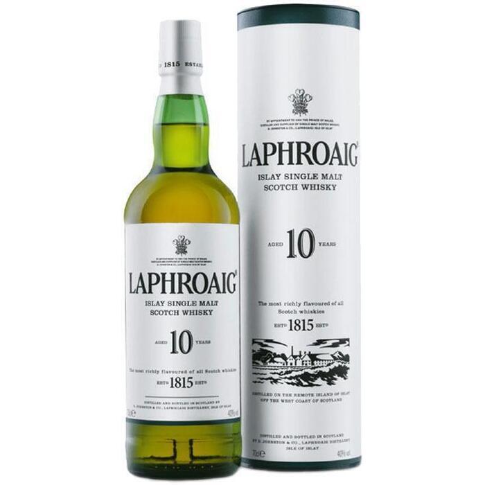 Laphroaig Islay Malt 10 years old (rol, 70 × 0.7L)