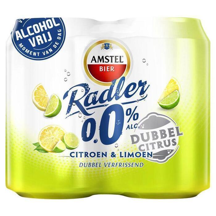 Radler dubbel citrus 0.0% (rol, 4 × 33cl)