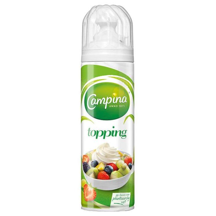 Topping (spuitbus, 250g)