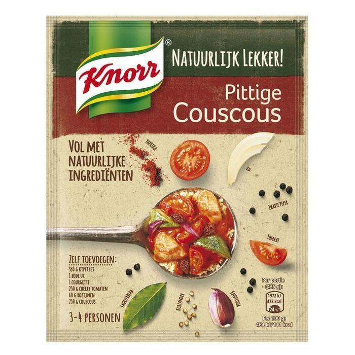 Natuurlijk mix pittige couscous (64g)
