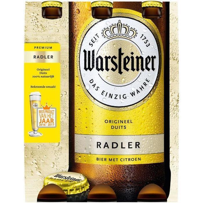 Warsteiner Radler (rol, 6 × 33cl)