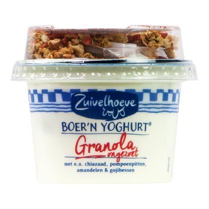 Boer'n yoghurt granola (emmer, 170g)