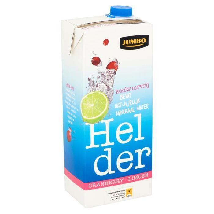 Cranberry Limoen Helder (pak, 1.5L)