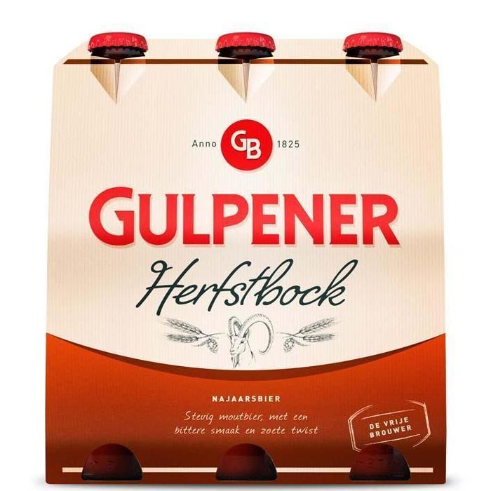 Gulpener Herfstbock 6-pack (6 × 30cl)