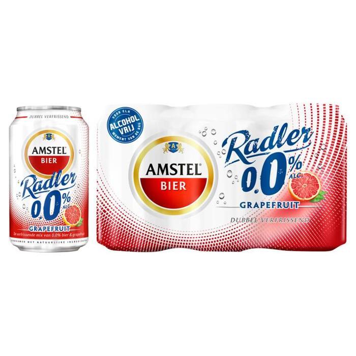 AMSTEL RADLER GRAPEFRUIT 0.0% 33 CL BLIK (rol, 33 × 33cl)