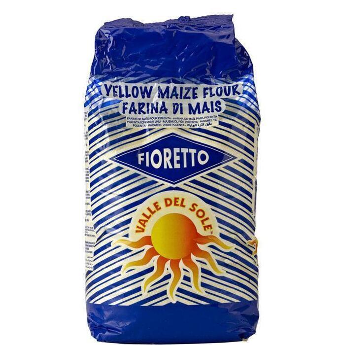 Valle Del Sole Fioretto Maïsmeel voor Polenta 1kg (1kg)