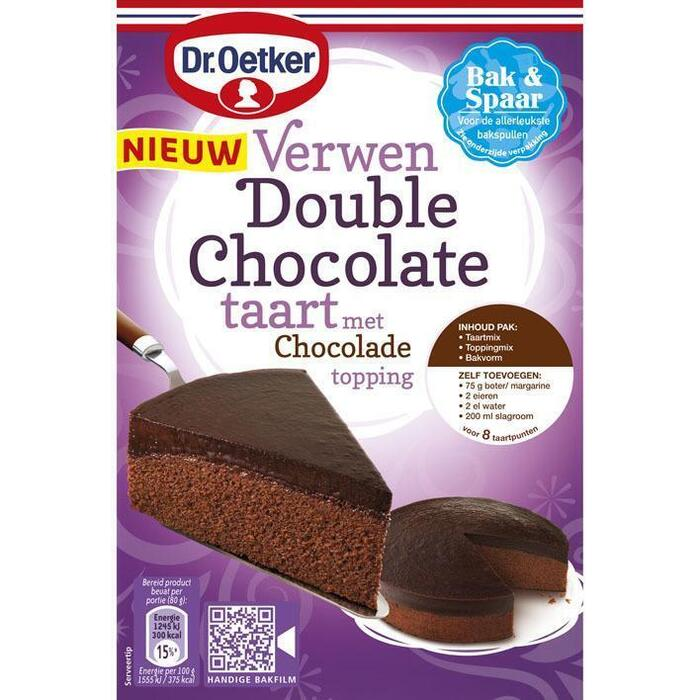 Verwen Double chocoladetaart (300g)