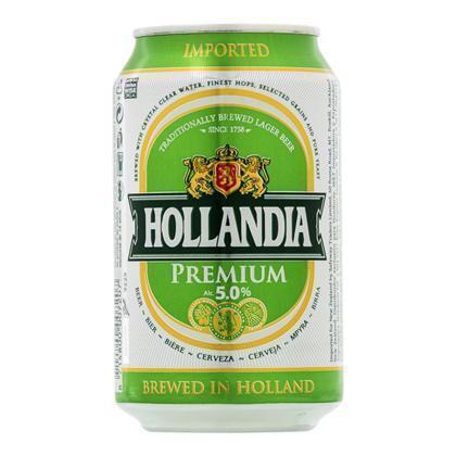 Hollandia Bier (rol, 33 × 33cl)
