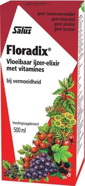 Floradix ijzer-elixer (0.5L)