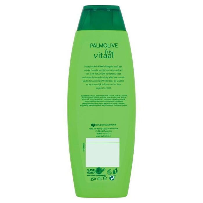 Palmolive Fris Vitaal Shampoo met Citrus-Extract 350ml (Stuk, 35cl)
