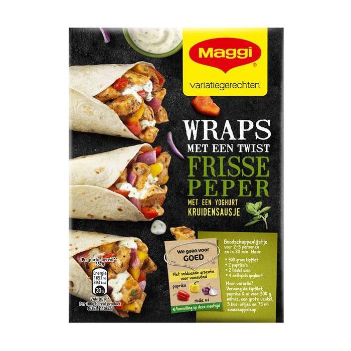 Maggi Wraps peper (156g)