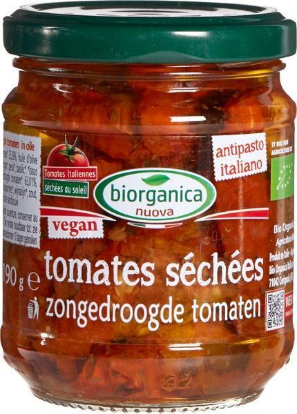 Zongedroogde tomaten in olie (190g)