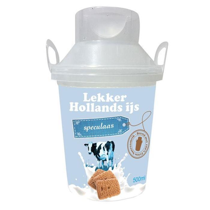 Echt Hollands Speculaas ijs (0.5L)
