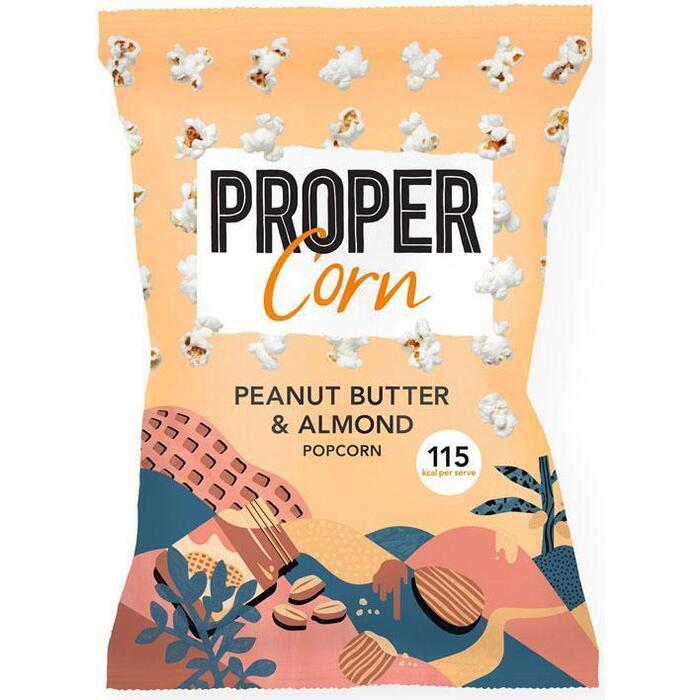 Propercorn Peanut butter & almond (90g)