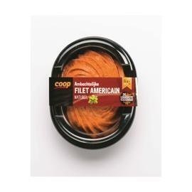 Top! van Coop Ambachtelijke filet americain naturel (150g)