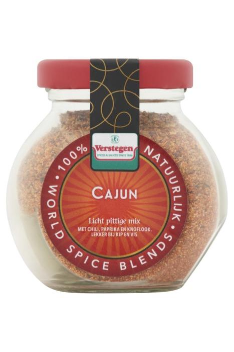 Verstegen specerijenmengeling Cajun 55 g fles (55g)