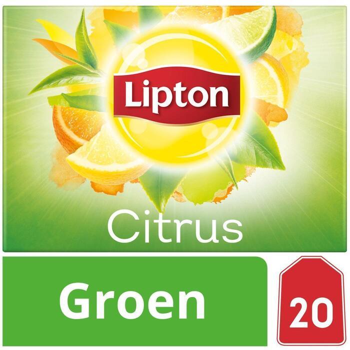 Groene thee citrus 1-kops (20 × 26g)